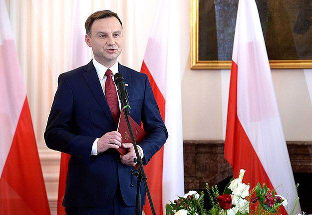 Andrzej Duda odebrał od PKW akt wyboru na Prezydenta RP