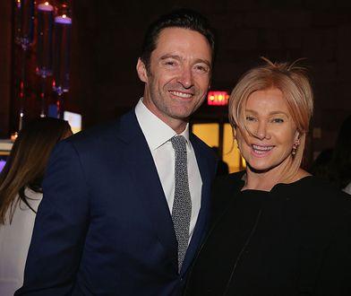 Hugh Jackman z żoną