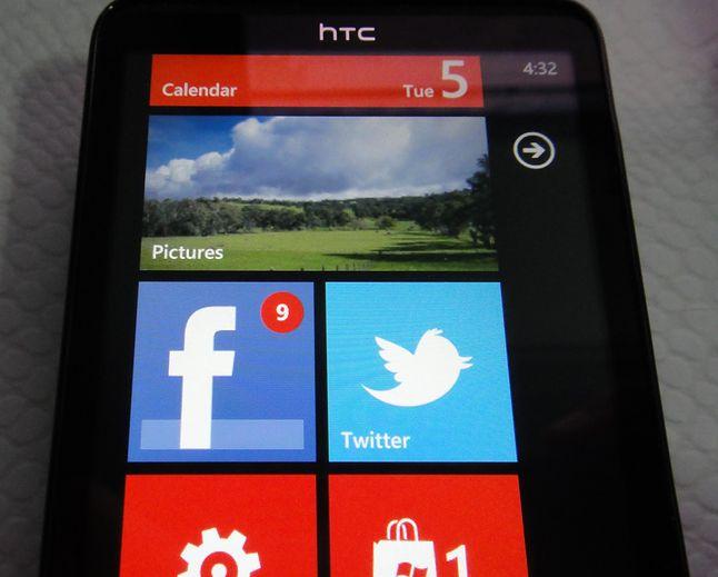 Notyfikacja w Windows Phone