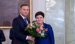 Prezydent Andrzej Duda przyjmuje dymisję premier Beaty Szydło.