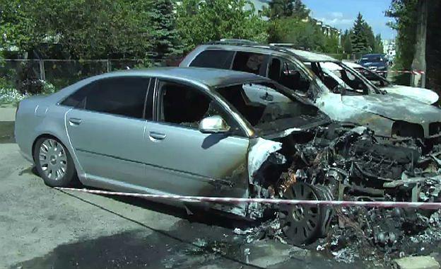 Samochód byłego szefa delegatury CBA i CBŚ spłonął w Gdańsku