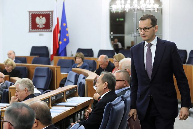 Nowelizacja ustawy o IPN w Senacie. Mateusz Morawiecki: celem zmian jest prawda historyczna