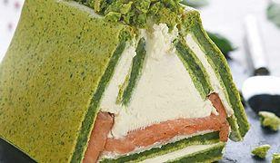 Chatka szpinakowo-łososiowa. Genialny pomysł na letnią kolację