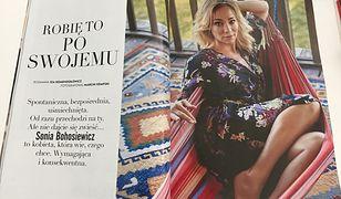 """Sonia Bohosiewicz o niezależności w związku: """"Lubię mieć swoje pieniądze"""""""