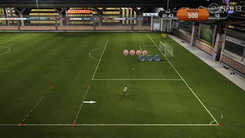 Skill Games - nowe zabawy w FIFA 13 wyglądają fajnie i... znajomo
