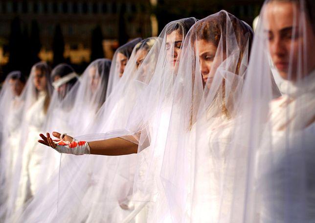 Demonstracja kobiet z 2016 roku przeciwko prawu dopuszczającemu małżeństwa ofiar z gwałcicielami