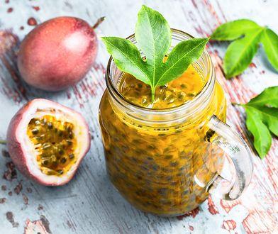 Marakuja jest owocem bogatym w witaminę C