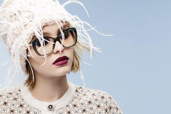 Lily-Rose Depp w kampanii okularów Chanel