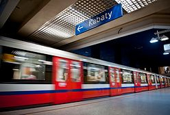 Metro w Warszawie: próba samobójcza kobiety