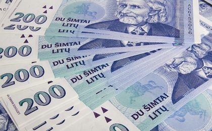 Zapłakane banknoty na Litwie