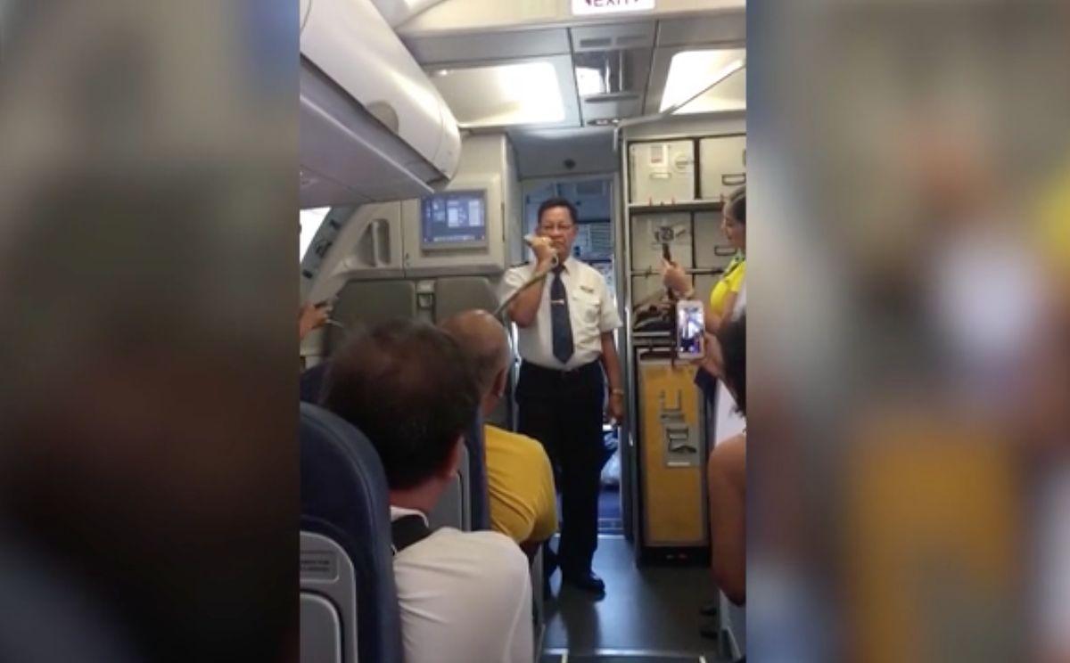 Ostatni lot pilota. Nie mógł powstrzymać łez