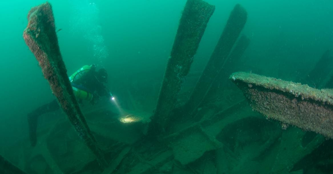 Znaleziono wrak chińskiego okrętu. Powstał w stoczni w Szczecinie