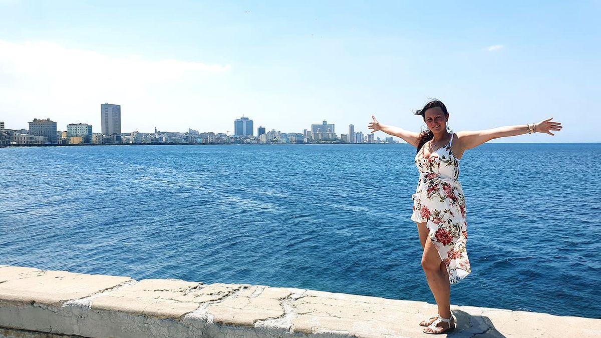 Anna Jesionczak mieszka w stolicy Kuby