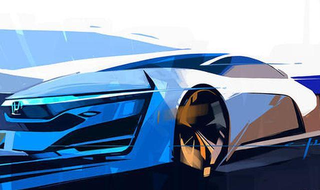 Honda przedstawia szkic modelu FCEV Concept