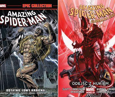 Amazing Spider-Man: Ostatnie łowy Kravena i Odejść z hukiem - recenzja komiksów