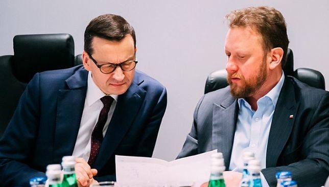 Wybory 2020. Minister zdrowia Łukasz Szumowski przekazał rekomendacje premierowi