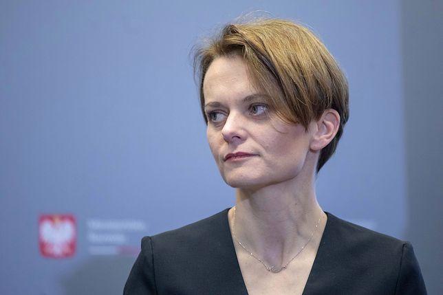 Minister Rozwoju - zapewne wkrótce wicepremier - Jadwiga Emilewicz