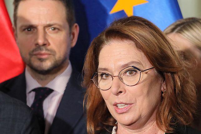 Wybory 2020. Rafał Trzaskowski i Małgorzata Kidawa-Błońska (zdjęcie archiwalne)