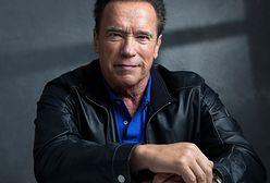 Arnold Schwarzenegger na przejażdżce rowerowej z synem