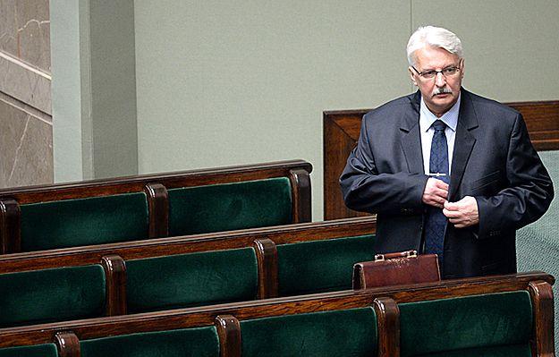 Witold Waszczykowski: chciałbym, żeby wrak tupolewa wrócił do Polski na szóstą rocznicę katastrofy smoleńskiej
