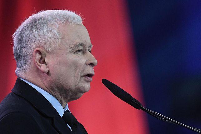 Konwencja PiS w Lublinie. Jarosław Kaczyński wygłosił przemówienie