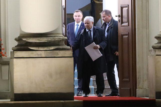 Po spotkaniu Andrzeja Dudy z Jarosławem Kaczyńskim.