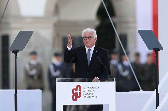 Prezydent Niemiec Frank Walter-Steinmeier wygłosił w Warszawie poruszające przemówienie