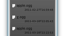 Zeitgeist w KDE