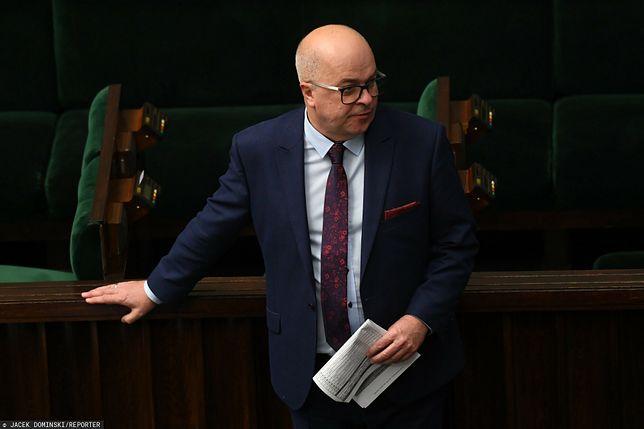 Dziennikarz Tomasz Zimoch w Sejmie