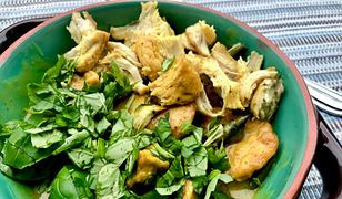 Kurczak w bazylii. Pachnie obłędnie
