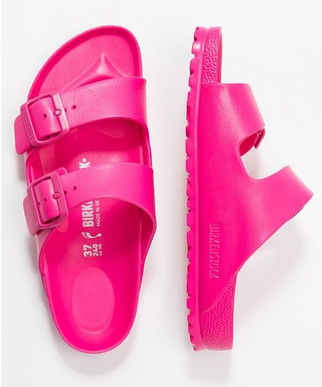 klapki Birkenstock Pink Sliders buty