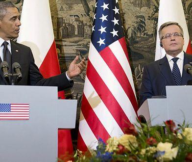 Barack Obama i Bronisław Komorowski