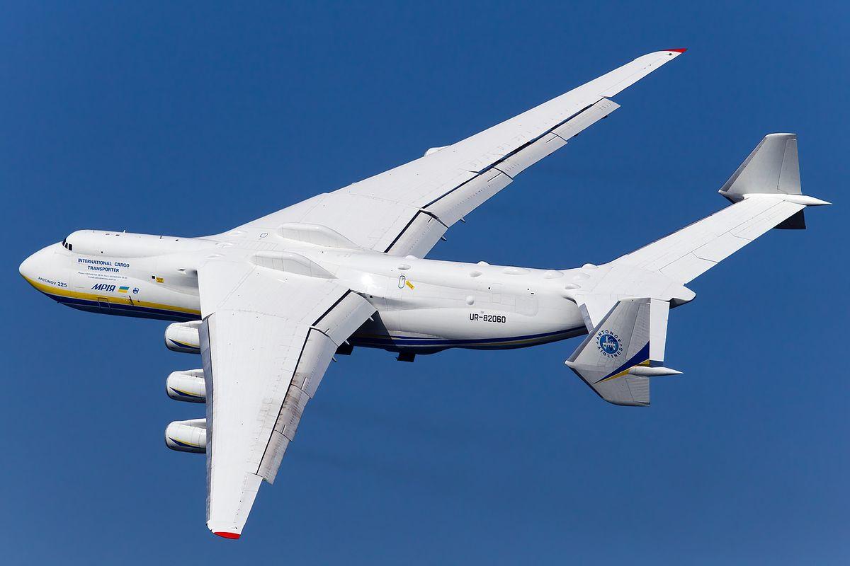 Antonow An-225 Mrija. Największy samolot świata wylądował w Warszawie