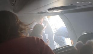 Ewakuacja samolotu British Airways.