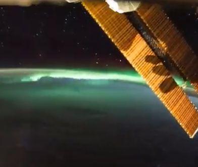 Zorza widziana z kosmosu