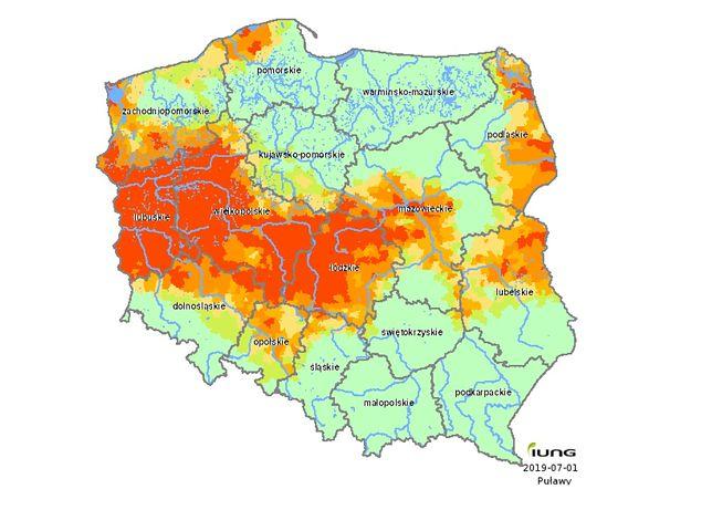 Susza odczuwalna jest już w 14 województwach