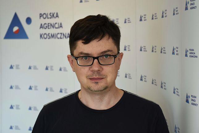 Maciej Konacki, Polska Agencja Kosmiczna
