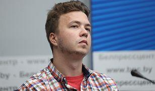 Raman Pratasiewicz na konferencji w Mińsku: Wszystko jest ze mną w porządku