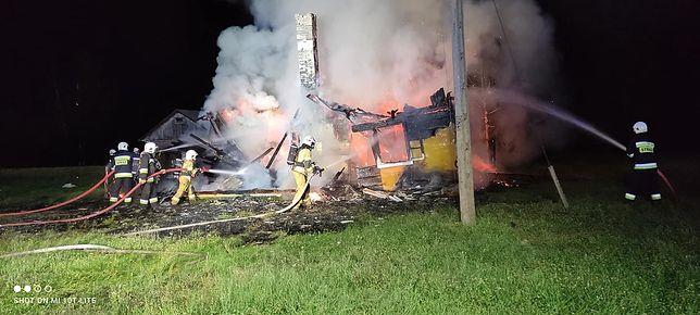 Zwłoki mężczyzny znalezione w doszczętnie spalonym domu