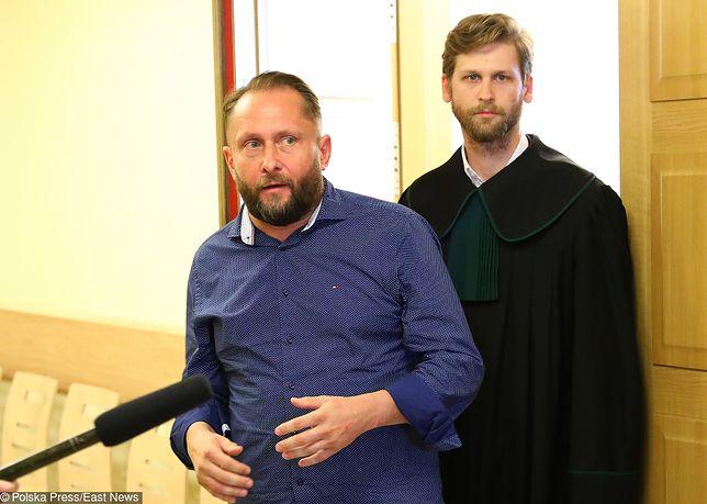 Kamil Durczok w Sądzie Rejonowym w Piotrkowie Trybunalskim