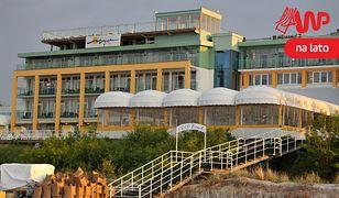 Jurata, luksusowy czterogwiazdkowy Hotel Bryza Resort & SPA przy plaży.