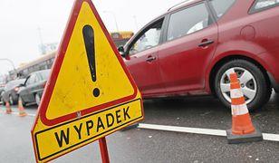 Do potrącenia doszło na estakadzie trasy Łazienkowskiej w stronę Żoliborza
