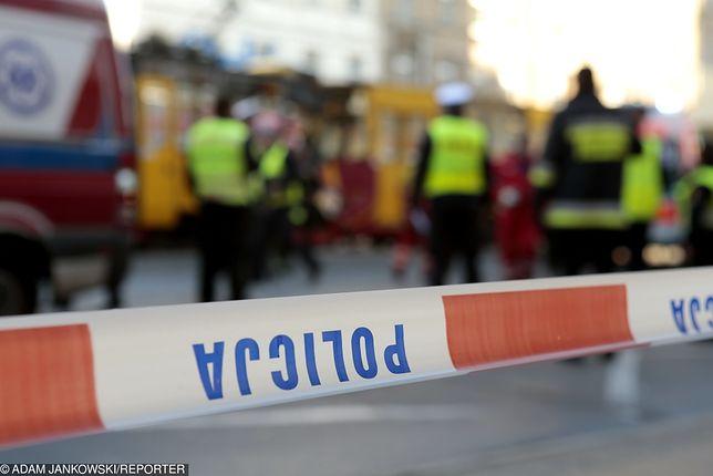 Do zderzenia dwóch tramwajów doszło na pl. Unii Lubelskiej