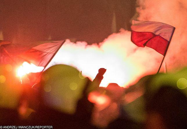 Zamieszki uczestników marszu z policją w 2014 roku