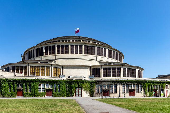 Hala Stulecia została wzniesiona we Wrocławiu