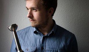 Konrad Budzyk, bardziej znany jako Blendman, autor bloga Blendman.pl. Fan warzywnych past i hummusów, który schudł 50 kg.