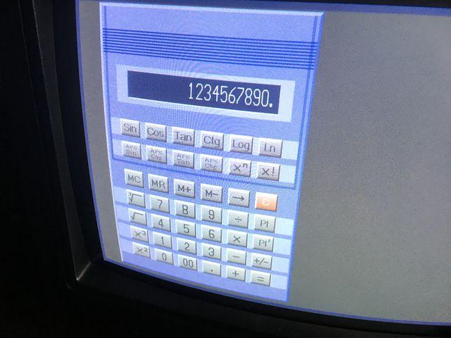Kalkulator miał całkiem dużo funkcji