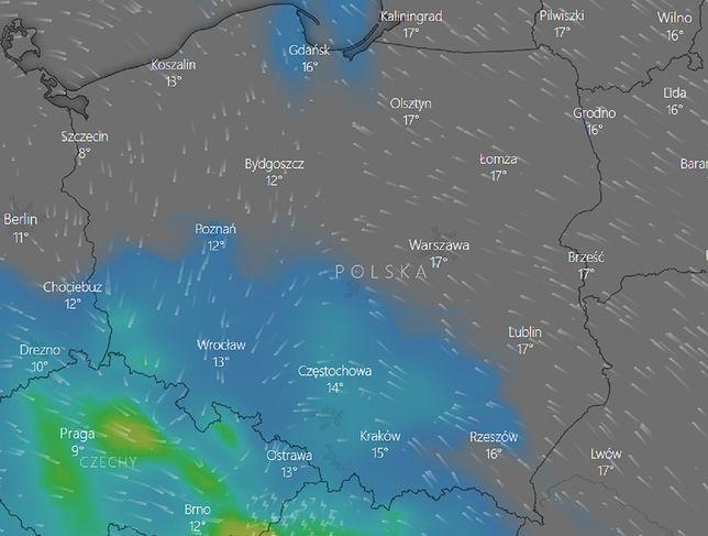 Pogoda na weekend 26-27 września. Prognoza zagrożeń IMGW. Śledź radar burzowy online