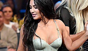 Kim Kardashian jest dumna ze swojej sylwetki