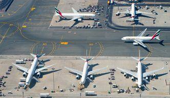 Dubaj. Jedno z największych i najruchliwszych lotnisk świata
